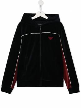 Emporio Armani Kids куртка с капюшоном 6H4MR21JDPZ