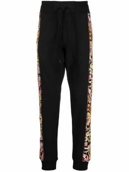 Versace Jeans Couture спортивные брюки с принтом Barocco A2GWA1F8S0153