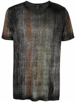 Avant Toi футболка с абстрактным принтом 221U2800JLIVB