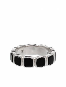 Tom Wood серебряное кольцо с ониксами R75CBMBO01S925