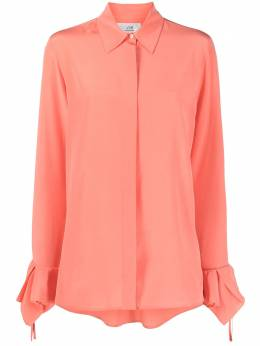 Victoria, Victoria Beckham рубашка с оборками 2121WSH002279B