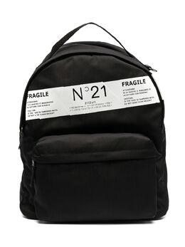 No.21 Kids рюкзак с принтом и логотипом N21117N0076