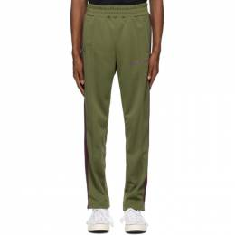 Palm Angels Green College Track Pants PMCA007R21FAB0035637
