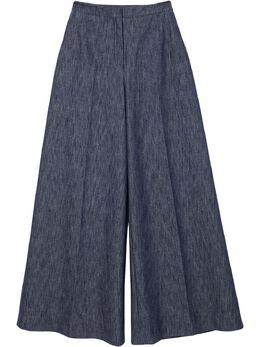 Carolina Herrera широкие брюки из денима R2111N408DEN