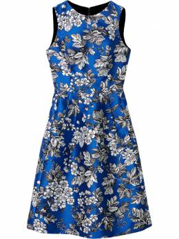 Carolina Herrera платье с цветочным принтом R2111N500LFJ