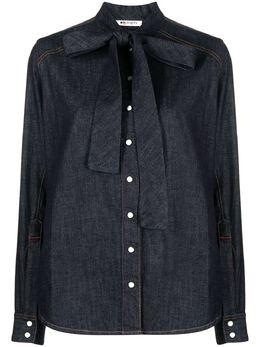 Ports 1961 джинсовая рубашка с эффектом потертости PW121HJD51FCOU222