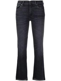 7 For All Mankind укороченные джинсы скинни JSABR850LO
