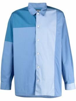 Neighborhood рубашка со вставками 202TSNHSHM04