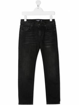 Neil Barrett Kids джинсы прямого кроя 026049