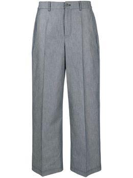 Agnona укороченные брюки с завышенной талией T70005YU2017P