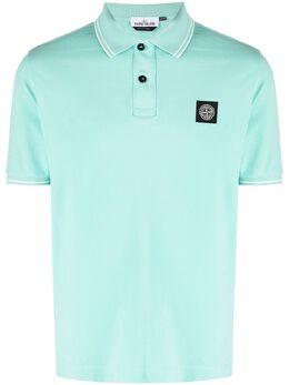Stone Island рубашка поло с логотипом 101522S18