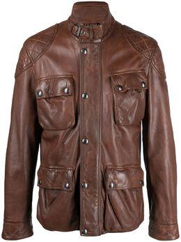 Belstaff байкерская куртка на молнии 71050563L81N0730