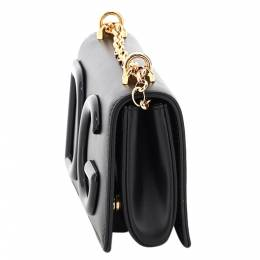 Dolce&Gabbana Black Dg Girl Phone Bag 372811