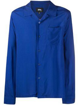 Stussy рубашка с графичным принтом 1110145