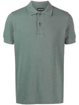 Tom Ford рубашка поло с короткими рукавами BW266TFJ982