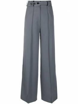 Rokh строгие брюки с боковыми разрезами R1CA55
