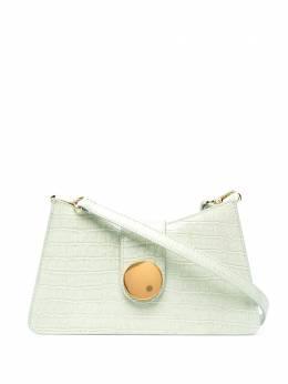 Elleme сумка на плечо Baguette с тиснением под кожу крокодила BAGUETTECROCO