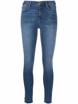 Frame джинсы скинни с необработанными краями и завышенной талией LHSKRA230
