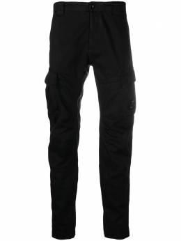C.P. Company прямые брюки карго 10CMPA151A005694G