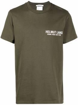 Helmut Lang футболка с логотипом K10DM503