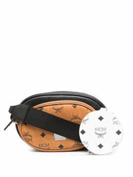 MCM сумка Essential с узором Visetos MWRBSSE01BW