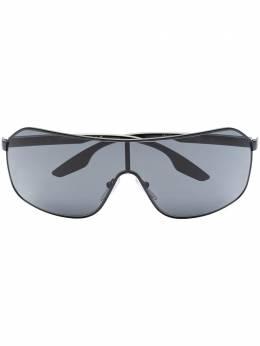 Prada Eyewear солнцезащитные очки-авиаторы в спортивном стиле 0PS53VS8056597152754
