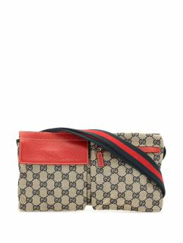 Gucci Pre-Owned поясная сумка Shelly Line 28566200047