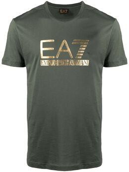 Ea7 футболка с логотипом 3KPT87PJM9Z
