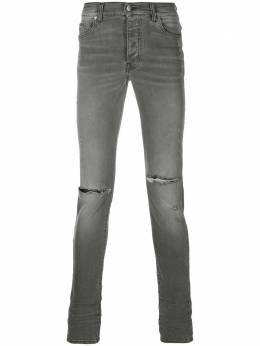 Amiri брюки скинни средней посадки MDS002