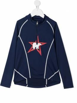 Perfect Moment Kids куртка с воротником на молнии и графичным принтом K60000471701