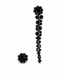 Simone Rocha асимметричные серьги ERG12M0903JET