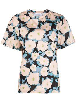 Christian Wijnants футболка с цветочным принтом TEYLA4811