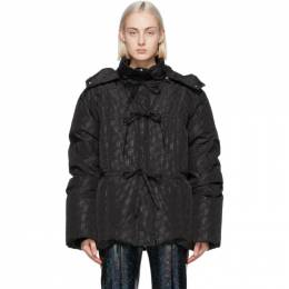 Saks Potts Black Down Mister Coat 15015