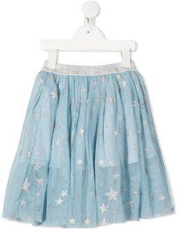 Stella McCartney Kids юбка с блестками 601283SPKB1