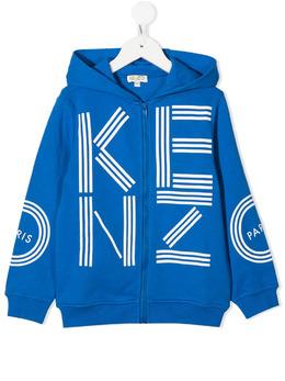 Kenzo Kids худи на молнии с логотипом KR17578