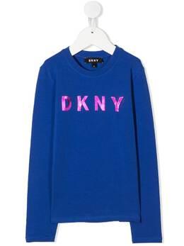 DKNY Kids толстовка с логотипом D35Q78829