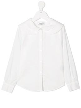 Lanvin Enfant рубашка с закругленным воротником N15009