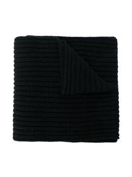 Chloe Kids шарф в рубчик с монограммой C1117709B