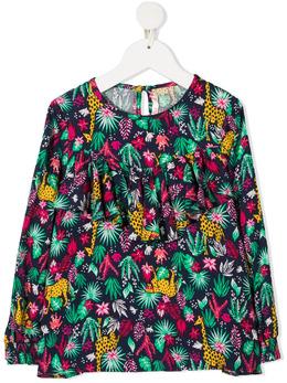 Billieblush блузка с анималистичным принтом U15760Z40