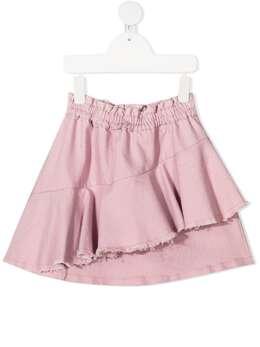 Andorine юбка с драпировкой и бахромой ADW2005