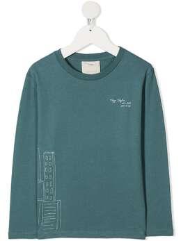 Knot футболка с принтом Skytree TL19NO2712