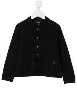 Emporio Armani Kids однобортный пиджак узкого кроя 6H4G504MFLZ