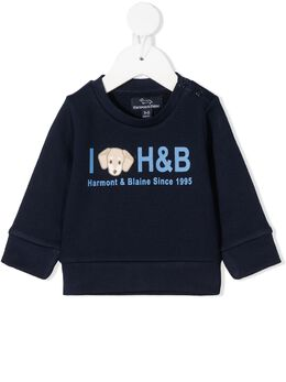 Harmont & Blaine Junior толстовка с логотипом 202TJL011