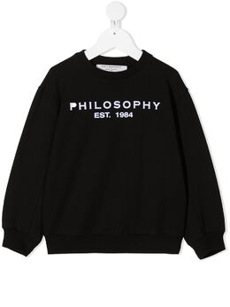 Philosophy Di Lorenzo Serafini Kids толстовка с логотипом PJFE33FE147