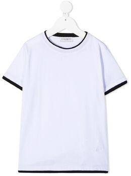 Paolo Pecora Kids футболка с контрастной отделкой PP2433