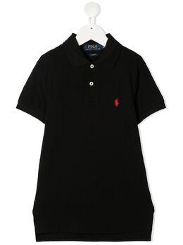 Ralph Lauren Kids рубашка поло с вышитым логотипом 323547926