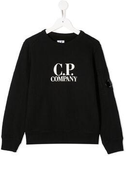 C.P. Company Kids толстовка с логотипом 09CKSS018A003878W