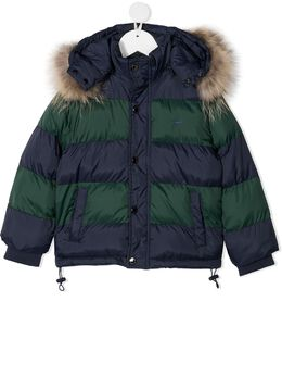 Harmont & Blaine Junior пуховик в двух тонах 211JK003