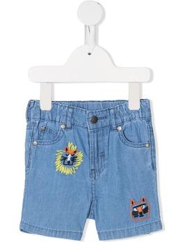 Stella McCartney Kids джинсовые шорты с вышивкой 602367SQK16