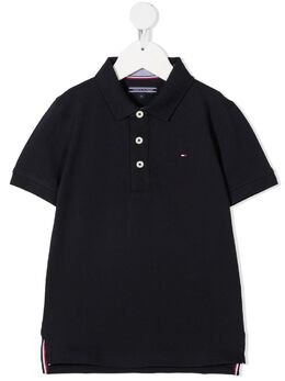Tommy Hilfiger Junior рубашка поло с вышитым логотипом KB0KB03975